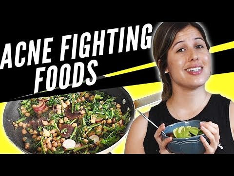 What I eat to heal acne | How to make healthy and easy Quinoa Salad