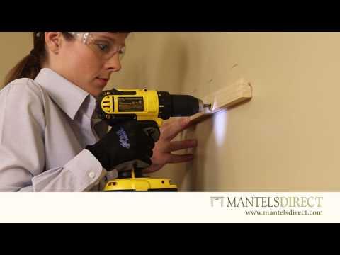 Wooden Mantel Shelf | Installation | MantelsDirect.com