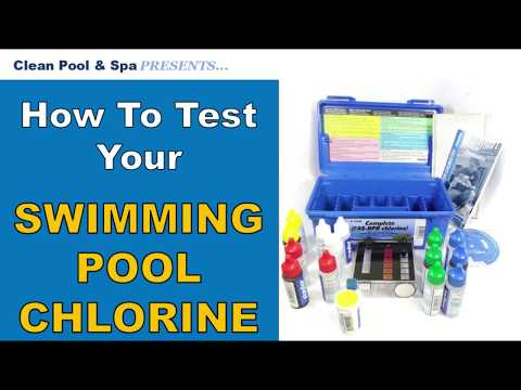 How To Test Your Pool Chlorine | Taylor Test Kit