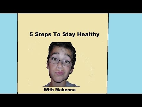 5 Steps To Stay Healthy