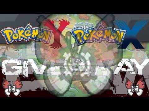 Pokemon X and Y Vivillon (Poke Ball Pattern) Max IV Giveaway Open Still