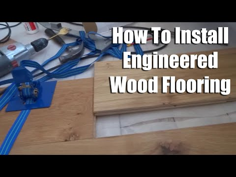 How to install Tongue and Groove Wood Flooring