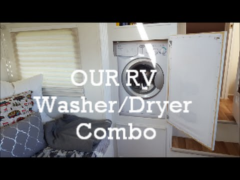 Our RV Washer Dryer Combo: how we installed it and how we operate it
