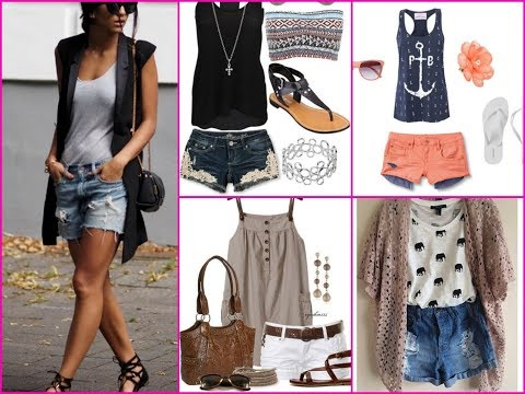 35 Cute Casual Shorts Outfit - How To Wear Shorts this Summer