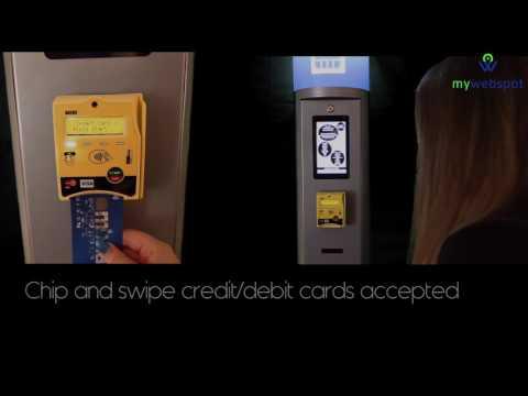 MY WEBSPOT -  Sim card vending Machine