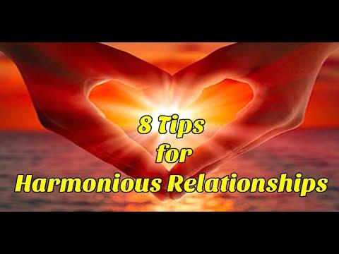 8 Tips for Harmonious Relationships