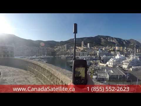 www.CanadaSatellite.ca - Iridium 9555 Satellite Phone test call - Monte Carlo, Monaco