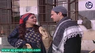 حكايا باب الحارة - معتز مو حابب يترك الشغل عند أبو خاطر - وائل شرف و عباس النوري