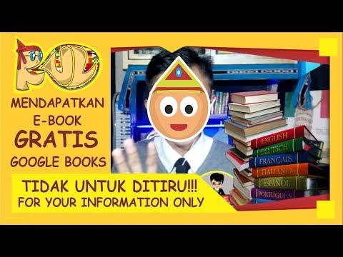Cara GRATIS Mendapatkan Ratusan/Ribuan Buku di Google Books Yang Berbayar!!!