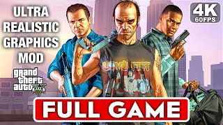 GTA 5 Gameplay Walkthrough Part 1 FULL GAME - ULTRA REALISTIC GRAPHICS [4K 60FPS PC] No Commentary
