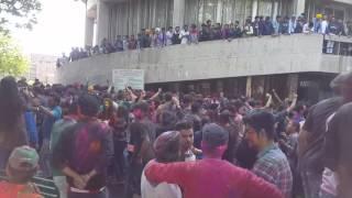 Punjab university holi 2017
