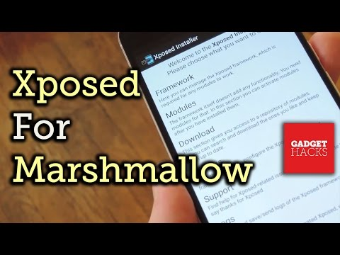 Install the Xposed Framework on Android Marshmallow [How-To]