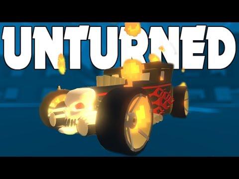 FLAMING GHOST & Tar-21! (Unturned Mods)