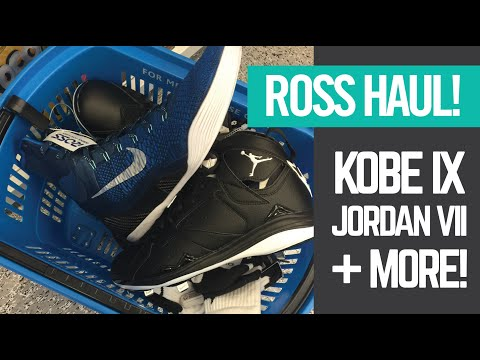 Ross Grand Opening Haul - Kobe IX + Jordan VII + GO PRO ACTION!