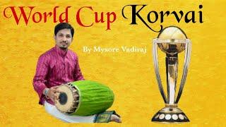Download #World Cup #Korvai - Aadi Thala - Samam to 3/4 Edapu Video