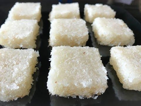 Fresh Coconut Burfi in 15 min | Kobbari Mithai Recipe | Indian Traditional Sweet