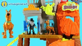Imaginext Scooby-doo Toys Haunted Mansion Playset For Kids New 2018