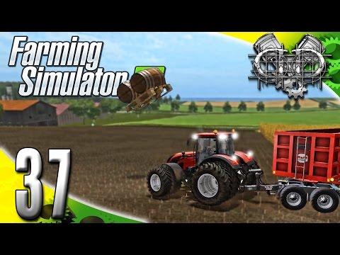 Farming Simulator 2017 Gameplay :EP37: Magic Flying Barrels & New Field! (PC HD GIANTS Island)