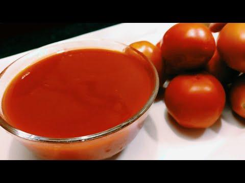 Tomato Ketchup Recipe - Easy Tomato Sauce