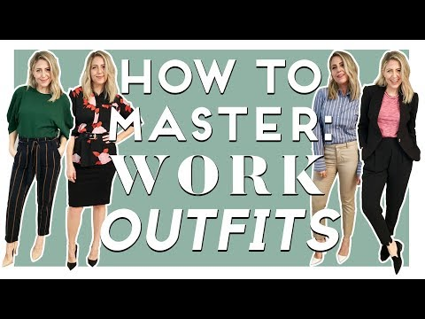 HOW TO MASTER Work Outfits |  ep. 2