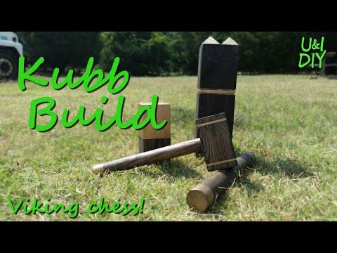 How to make a Kubb set - DIY tutorial