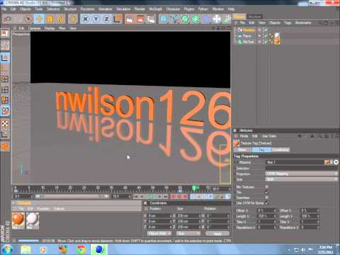 Cinema 4d Tutorial - Making a Video Intro Using Random Effector