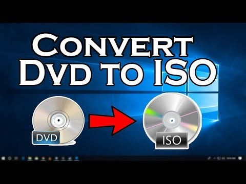 How To Convert A DVD to ISO on windows