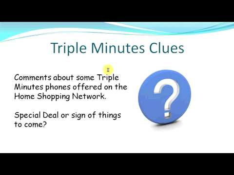 Tracfone Triple Minutes Phones