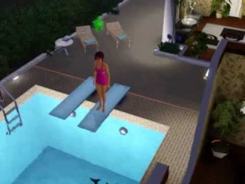 New Diving Boards on The Sims 3