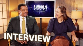 Arielle Kebbel & Russell Hornsby Interview - Lincoln Rhyme: Hunt of the Bone Collector (2020)
