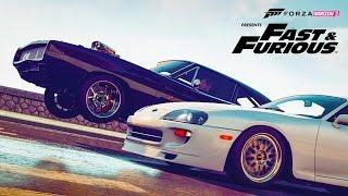 NEW DLC FORZA Horizon 2  - Dom's Car! Customizing & RACING - FAST & FURIOUS 7 Car Pack (FURIOUS 7)