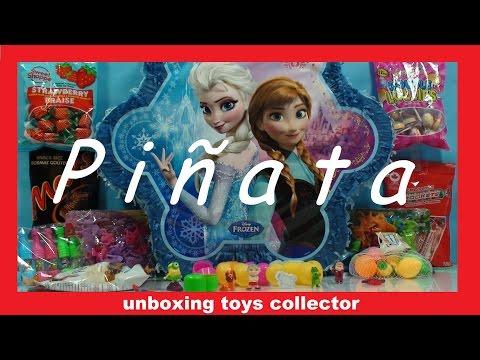 Disney Frozen Birthday piñata How to Make a perfect Birthday Party Feliz Aniversario Funtoys
