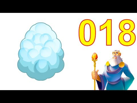 Dragon City Gameplay Tutorial Part 18 Level 18 (Got Cloud Dragon Egg from Breeding)