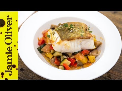Panfried Cod and Ratatouille | Bart's Fish Tales