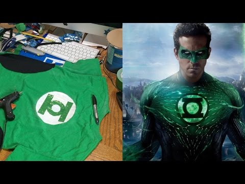 Make Your Own Green Lantern Costume! (DIY)
