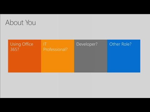 Manage SharePoint and OneDrive in Office 365: A field guide for administrators - BRK3235