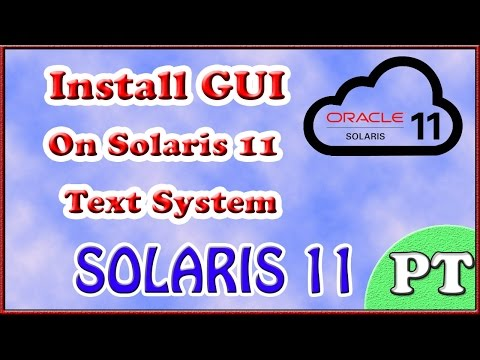 ** HOW TO INSTALL DESKTOP GUI ON SOLARIS 11 x86 ** PERSONAL TUTOR **