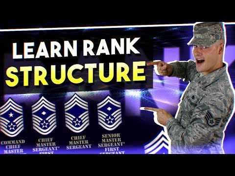 Air Force BMT tips: LEARN RANK STRUCTURE