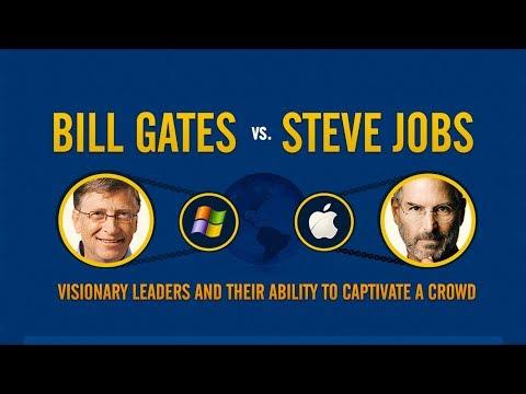 Bill Gates vs Steve Jobs - Visionary Leaders Comparison Story