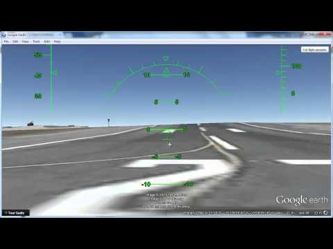 How to Use Google Earth Flight Simulator