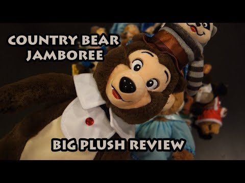 REVIEW! Country Bear Jamboree BIG PLUSH