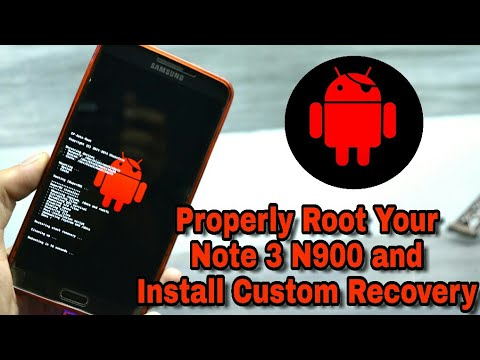 How To Properly Root and Install Custom Recovery On Galaxy Note 3 N900