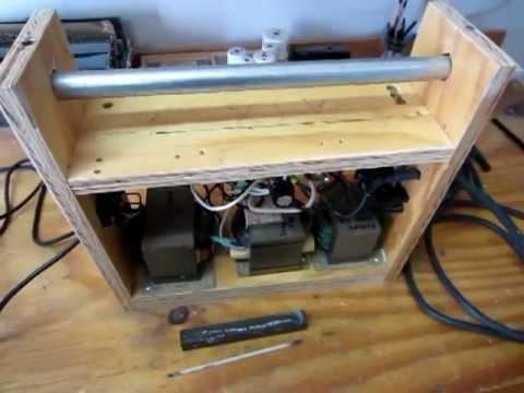 $20 Homebuilt DC Arc Welder - Portable 110V