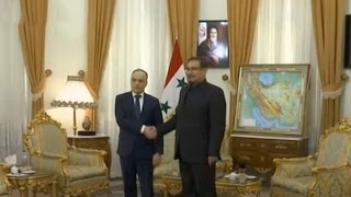Syria welcomes various deals on telecommunication and petrol terminals with Iran