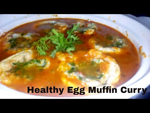 Healthy Egg Muffin Cups Recipe | How to make egg muffins with Curry 😀