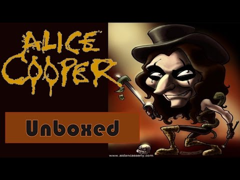 Alice Cooper: 'The Studio Albums 1969-1983' - Unboxing