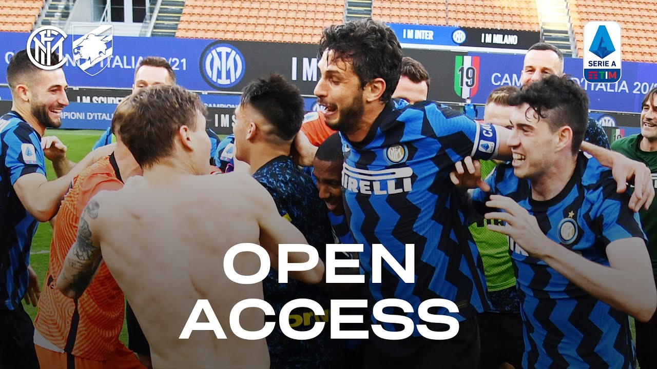 INTER 5-1 SAMPDORIA | OPEN ACCESS | The Champions are back in town! 👏🖤💙🇮🇹1️⃣9️⃣