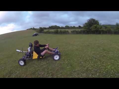 GO KART WITH A 140CC MOTOR BIKE ENGINE