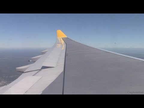 Monarch Airlines A330-243 | Manchester to Orlando Sanford | Takeoff & Landing | MON303
