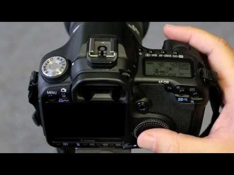 Canon 50D - Setting up manual exposure